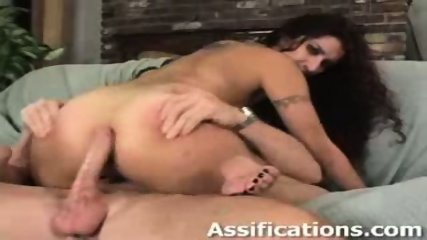This chick gets a brutal ass pounding - scene 9