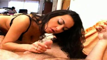 Victoria takes a load in her hot mouth - scene 2
