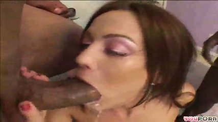 Sarah strokes and blows two black rods - scene 8