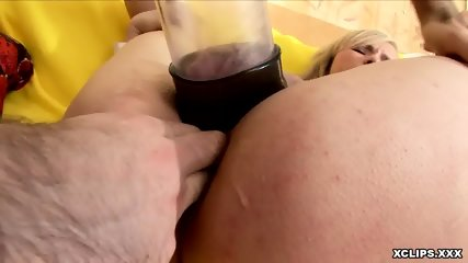 Kinky Assbanging Session With A Blonde - scene 4
