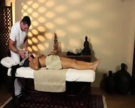 Very Tricky Massage Room Of Hungry Masseur