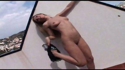 Gorgeous Mature Renata Naked On The Roof - scene 9