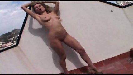 Gorgeous Mature Renata Naked On The Roof - scene 11