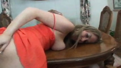 solo in orange dress - scene 8