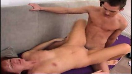 very attractive mature woman takes it deep in her ass - scene 5