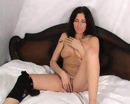 Natasha plays on bed (Part 2) - scene 1