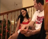 staircase sex - scene 1