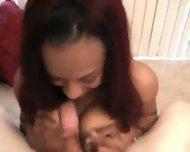 Ebony cock suck - scene 6