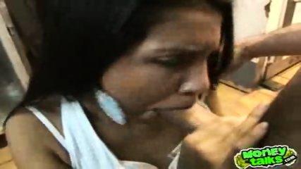 Latina sucks dick at work - scene 12