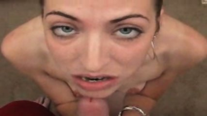 Rosey with the cute titties likes to swallow - scene 3