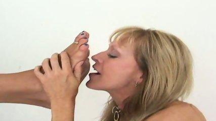 lesbian feet worship - scene 10
