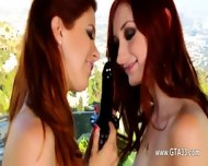 Lesbian Toying Huge Butt Holes And Eating It Hard