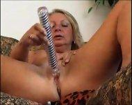 Hot Granny Masturbates - scene 10