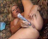 Hot Granny Masturbates - scene 12