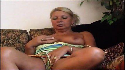 Hot Granny Masturbates - scene 1
