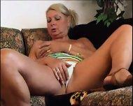 Hot Granny Masturbates - scene 3