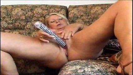 Hot Granny Masturbates - scene 7