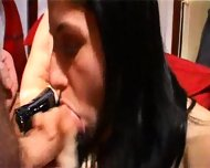 a couple of girls have some fun with their boyfriends - scene 10