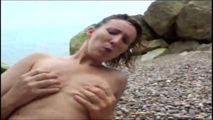 Beach girl feels cock slide into cute asshole - scene 8