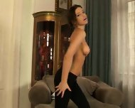 hot chick shows us what she is made of - scene 4
