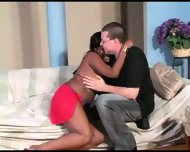 black girl with big tits gets shtupped - scene 1