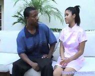 """Asia does the """"Bangkok Slide"""" - scene 1"""