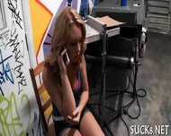 After Being Seduced Babe Gets Nailed