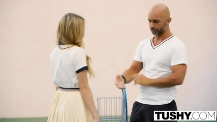 Tushy First Anal For Tennis Student Aubrey Star - scene 1