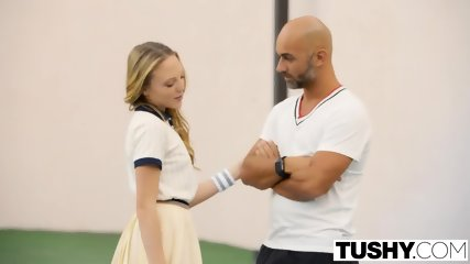 Tushy First Anal For Tennis Student Aubrey Star - scene 2