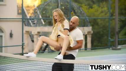 Tushy First Anal For Tennis Student Aubrey Star - scene 4
