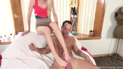 Foot Fetish Fucking With Kara Stone - scene 3