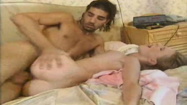 Blond Baby having Fun with Boyfriend