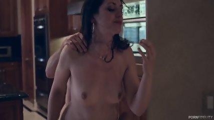 Sweet Babe Creampied After Brutal Sex - scene 6