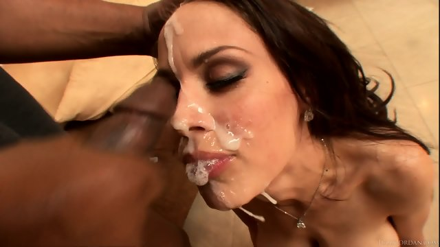 Cum On Busty Cock Rider's Face