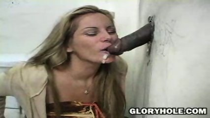 Blonde sucking huge Cock - scene 12