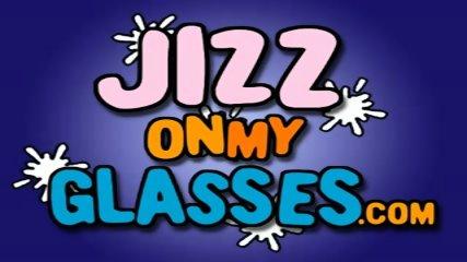 Julia Bond gets Jizz on her Glasses - scene 1