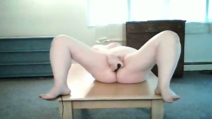 Submissive morsel fucks anal beads