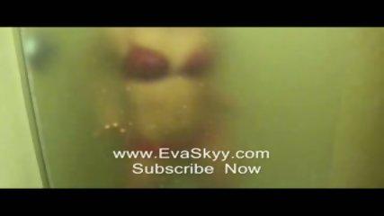 Strip Tease In Hot Wet Steamy Shower - scene 8