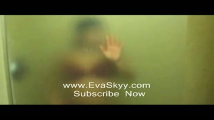 Strip Tease In Hot Wet Steamy Shower - scene 10