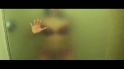 Strip Tease In Hot Wet Steamy Shower - scene 1