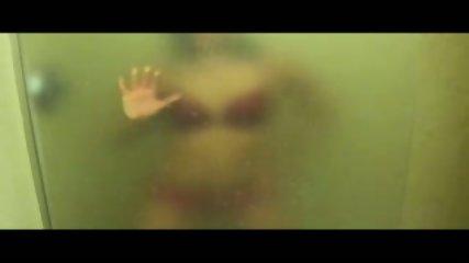 Strip Tease In Hot Wet Steamy Shower - scene 2