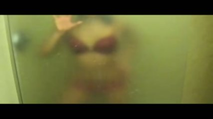 Strip Tease In Hot Wet Steamy Shower - scene 3
