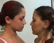 Lesbian Kissing - scene 1