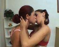 Lesbian Kissing - scene 4