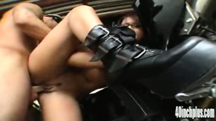 Eva fucked on bike - scene 2