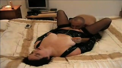 Slut PVC Blowjob - scene 10