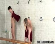 Nude Twinks In A Public Shower