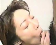 Asian Lass gives Head and fucks - scene 1