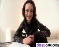 Contact Me On Cheat-date - Drecksau Im Castingstudio
