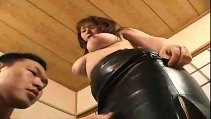 japan leather-skirtgirl-blow job01 - scene 8